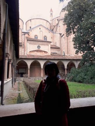 Llegando a Padua.