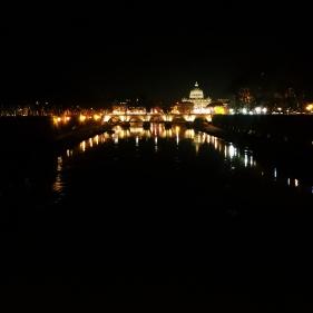 ¡Roma de noche!